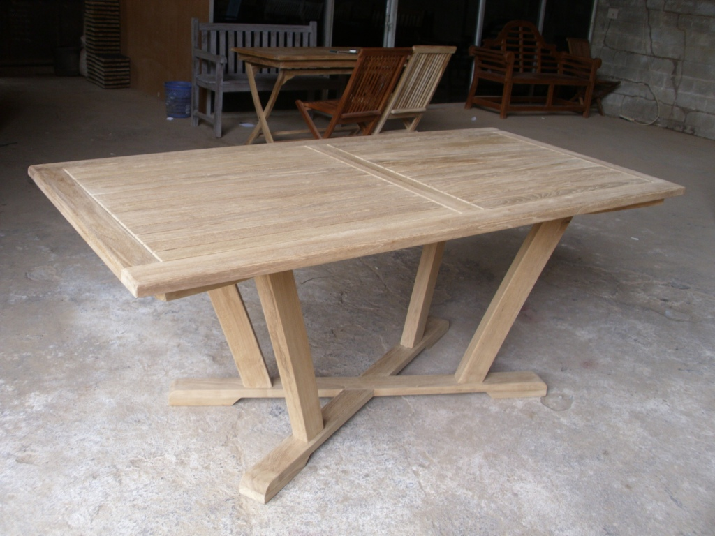 Teak Straubing table 180 x 90