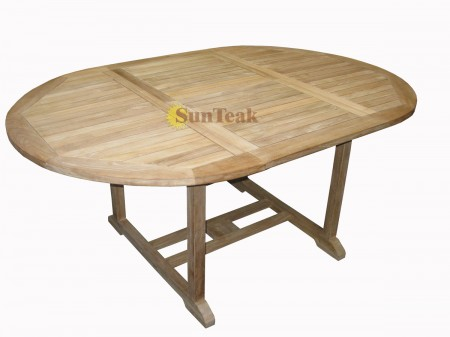 Oval ext table 180/240x100
